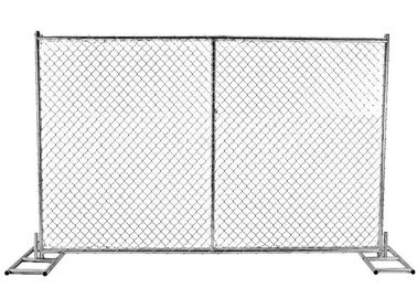Chain Link Panels Australian Temporary Fencing With 38mm Round Pipe Frame